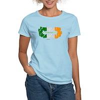 St Patrick's Day Reef Flag Women's Light T-Shirt