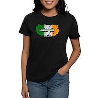 St Patrick's Day Reef Flag Women's Dark T-Shirt