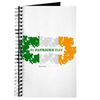 St Patrick's Day Reef Flag Journal