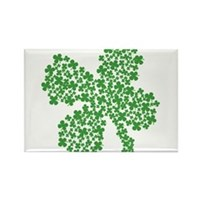 Clover Clovers Rectangle Magnet