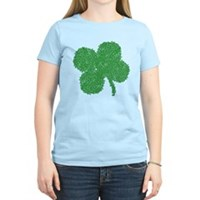 Emo Skull Clover Women's Light T-Shirt