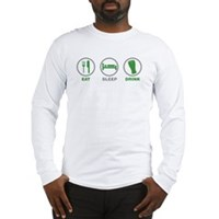 Eat Sleep Drink St Patrick's Day Long Sleeve T-Shi