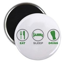Eat Sleep Drink St Patrick's Day Magnet