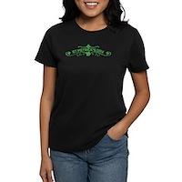 St Patricks Day Floral Women's Dark T-Shirt