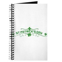 St Patricks Day Floral Journal