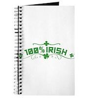100% Irish Floral Journal