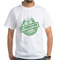 Official Drinking Team Stamp White T-Shirt