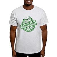 Official Drinking Team Stamp Light T-Shirt