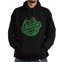 Official Drinking Team Stamp Hoodie (dark)