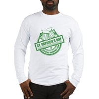 Official Drinking Team Stamp Long Sleeve T-Shirt