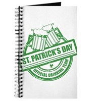 Official Drinking Team Stamp Journal