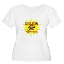 Hamburgers Brighten T-Shirt
