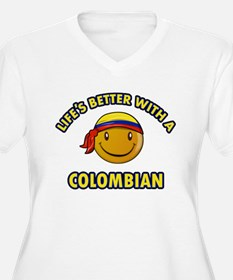 Life's better with a Columbian T-Shirt