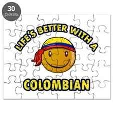 Life's better with a Columbian Puzzle