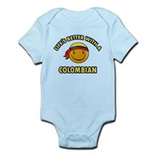 Life's better with a Columbian Infant Bodysuit