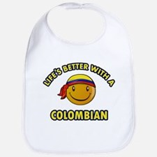 Life's better with a Columbian Bib