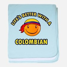 Life's better with a Columbian baby blanket