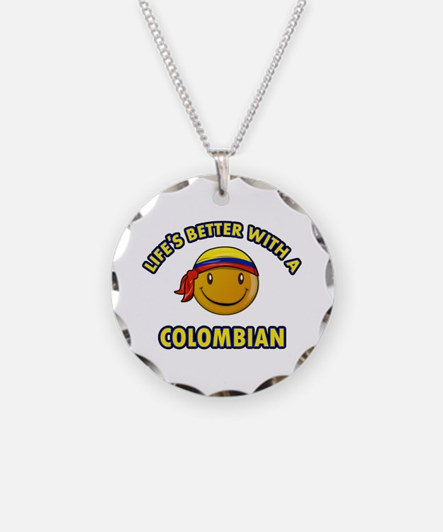 Life's better with a Columbian Necklace