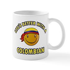 Life's better with a Columbian Mug