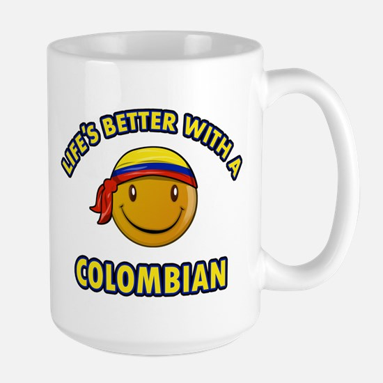 Life's better with a Columbian Large Mug