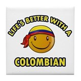 Colombia Drink Coasters