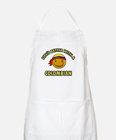 Life's better with a Columbian Apron
