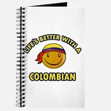 Life's better with a Columbian Journal