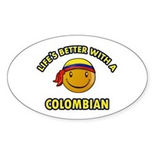 Life's better with a Columbian Decal