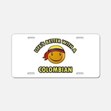 Life's better with a Columbian Aluminum License Pl