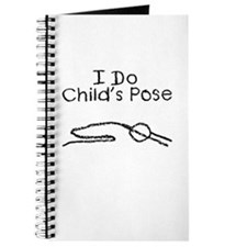 Black Child's Pose Journal