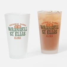 Wrangell St Elias Park Drinking Glass