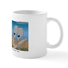 An awkward moment in the wheat field Mug