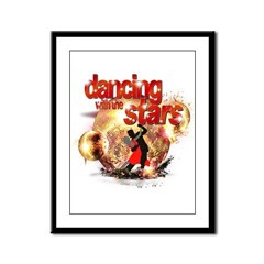 Dancing with the Stars Disco Framed Panel Print