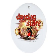 Dancing with the Stars Disco Ornament (Oval)