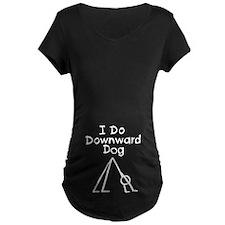 White Downward Dog T-Shirt