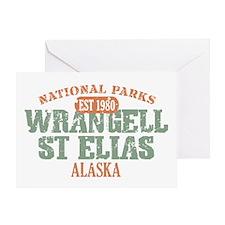 Wrangell St Elias Park Greeting Card