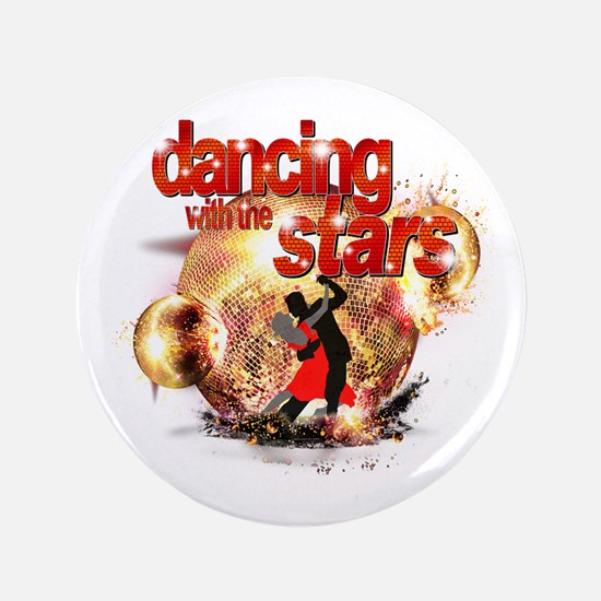 """Dancing with the Stars Disco 3.5"""" Button"""