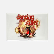 Dancing with the Stars Disco Rectangle Magnet (10