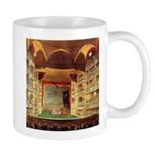 Drury Lane Theatre 1809 Mug