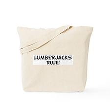 LUMBERJACKS Rule! Tote Bag