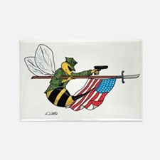 Rectangle Magnet-Seabee