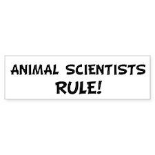 ANIMAL SCIENTISTS Rule! Bumper Bumper Sticker