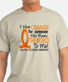 Means World To Me 1 Multiple Sclerosis Shirts Ligh
