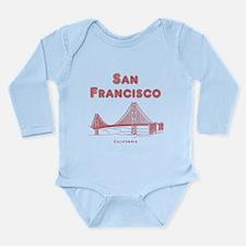 San Francisco Long Sleeve Infant Bodysuit