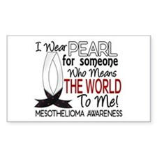 Means World To Me 1 Mesothelioma Shirts Decal