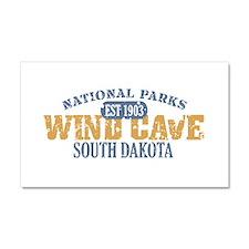 Wind Cave Park South Dakota Car Magnet 20 x 12