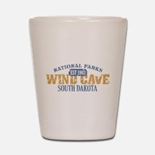 Wind Cave Park South Dakota Shot Glass