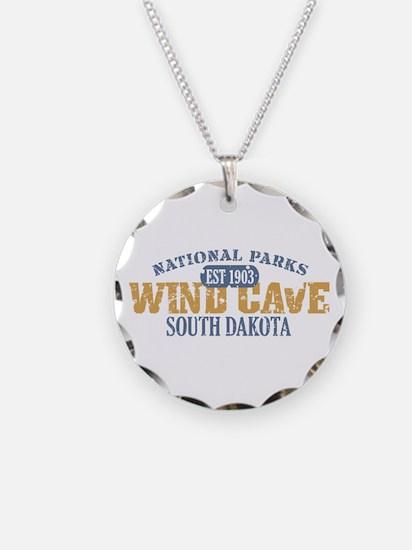 Wind Cave Park South Dakota Necklace