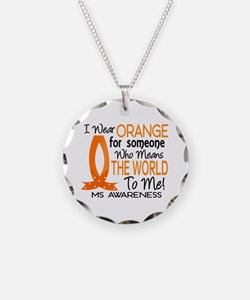 Means World To Me 1 MS Shirts Necklace Circle Char