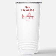 San Francisco Stainless Steel Travel Mug